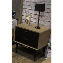 Alba 2 Drawer Bedside Table