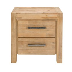 Anglesea 2 Drawer Bedside Table