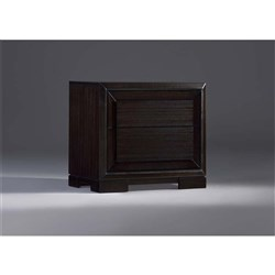 Atlantic 2 Drawer Bedside Table