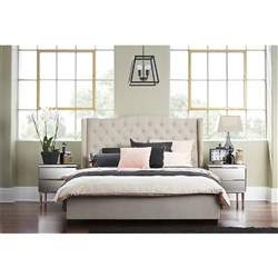 Avian Queen Bed Grey