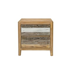 Bahamas 2 Drawer Bedside Table