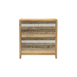 Bahamas 5 Drawer Tallboy - Cosmo