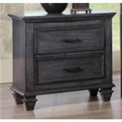 Belmont 2 Drawer Bedside Table