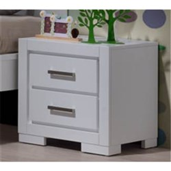 Blaise 2 Drawer Bedside Table