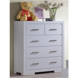 Blaise 5 Drawer Tallboy (Small)