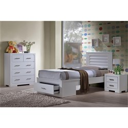 Blaise King Single Tallboy Bedroom Suite