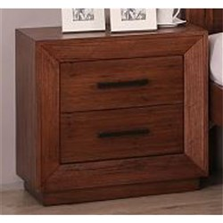 Canyon 2 Drawer Bedside Table