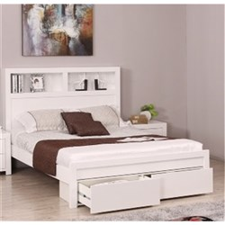 Carla King Bed with 2 Drawers