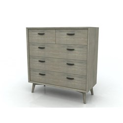 Celeste 5 Drawer Tallboy
