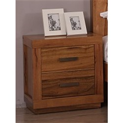 Chanel 2 Drawer Bedside Table