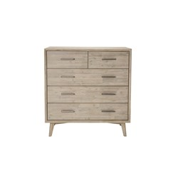Chicago II 5 Drawer Tallboy