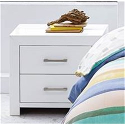 Contempo 2 Drawer Bedside Table