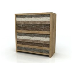 Crusoe 5 Drawer Tallboy