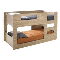 Domino Single over Single Bunk - Sonoma Oak