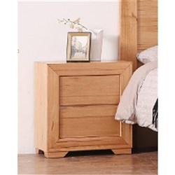 Heritage 2 Drawer Bedside Table