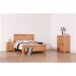Heritage King Tallboy Bedroom Suite
