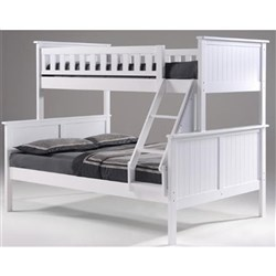 Jake Single over Double Bunk - White