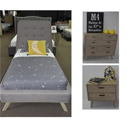 Jasper/Torrey Single Tallboy Bedroom Suite