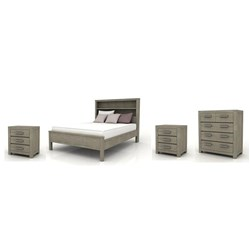 Kendall Queen Tallboy Bedroom Suite