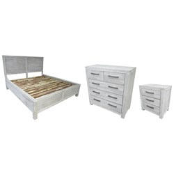 Key Largo Queen Tallboy Bedroom Suite