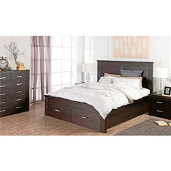 Rustic King Dresser Bedroom Suite