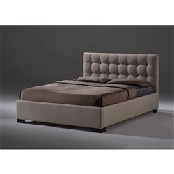 Samara Double Bed - Light Beige