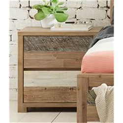 Seashore 2 Drawer Bedside Table