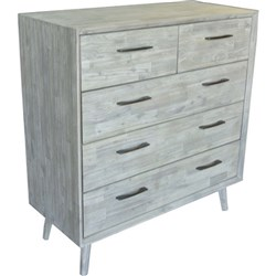Seattle 5 Drawer Tallboy