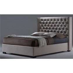 Toulouse King Bed - Grey