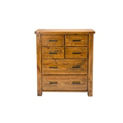 Woolstore 6 Drawer Tallboy