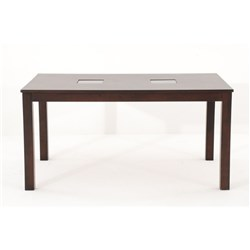Augusta Dining Table - Glass