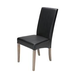 Emerson Dining Chair - PU Black