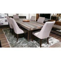 Soho 7PC Dining Set - Taupe