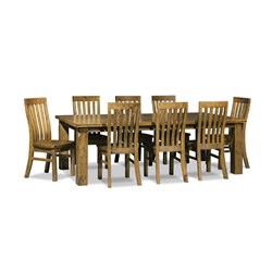 Woolstore 9PC Dining Set - 2400 Table