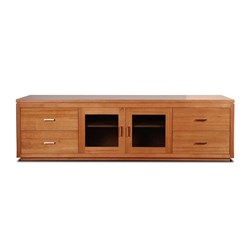 Ascari 4 Drawer/2 Door Entertainment Unit