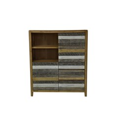 Bahamas 3 Drawer/2 Door Highboard