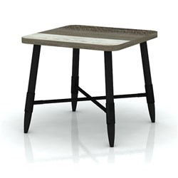 Havana - Lamp Table - Acacia/Different Distress Light Brown