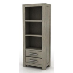 Key Largo 2 Drawer/3 Shelf Bookcase