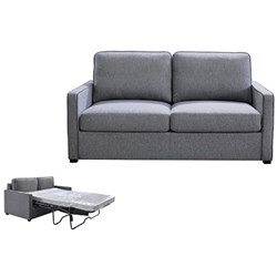 FLYNN 2.5S SOFABED COLUMBIA FABRIC STORM #38