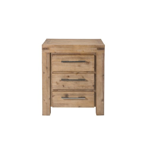 Emerson 3d bedside table acacia moka finish emrs b02 for Table queens acacia