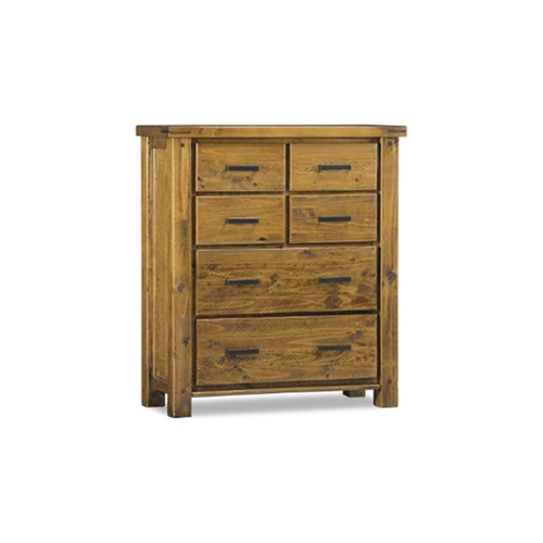 Woolshed 6 Drawer Tallboy