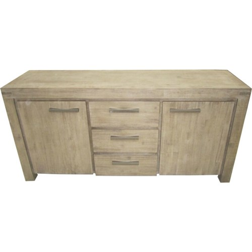 Emerson - Buffet, 3 Drawer, 2 Door - Acacia/Moka Finish