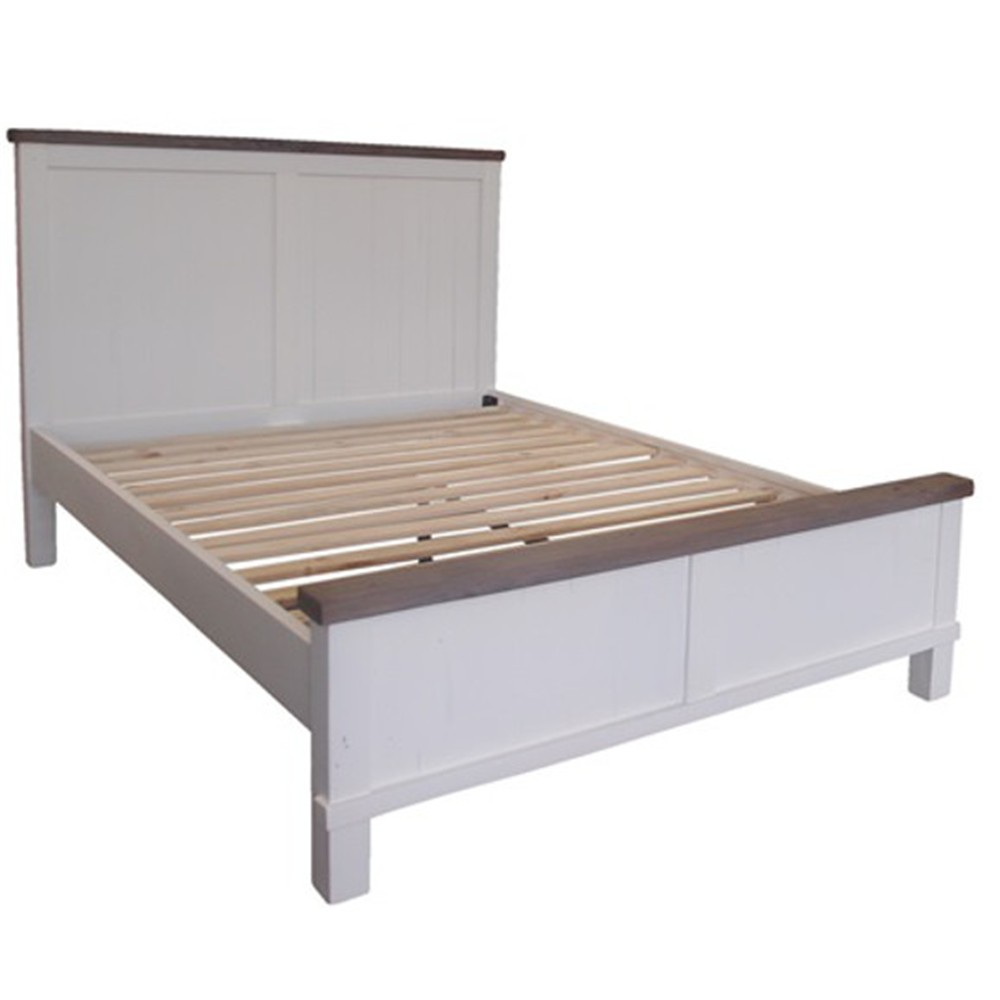 Maryland queen bed recycled pineweathered gray chic white contact jeuxipadfo Choice Image