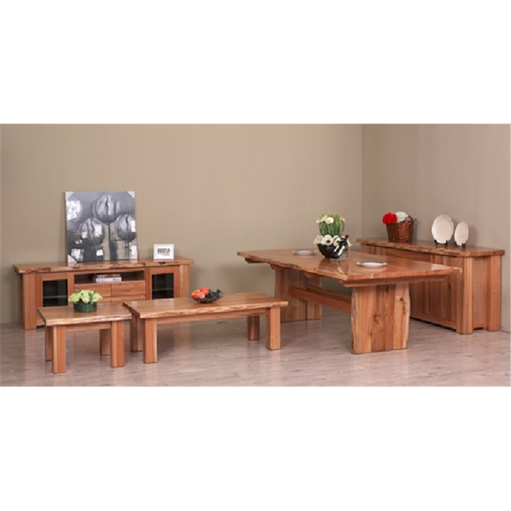Winton Dining Table 2400 Messmate Natural Finish